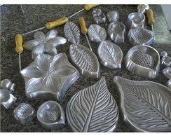 Kit Frisador de flor em eva 12 Peças