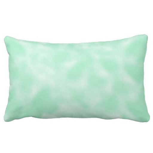 Mint Green and White Mottled Lumbar Pillow Save your money, Mint green and Great deals