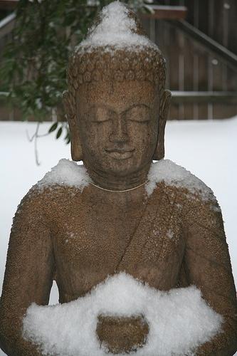 Snow Buddah