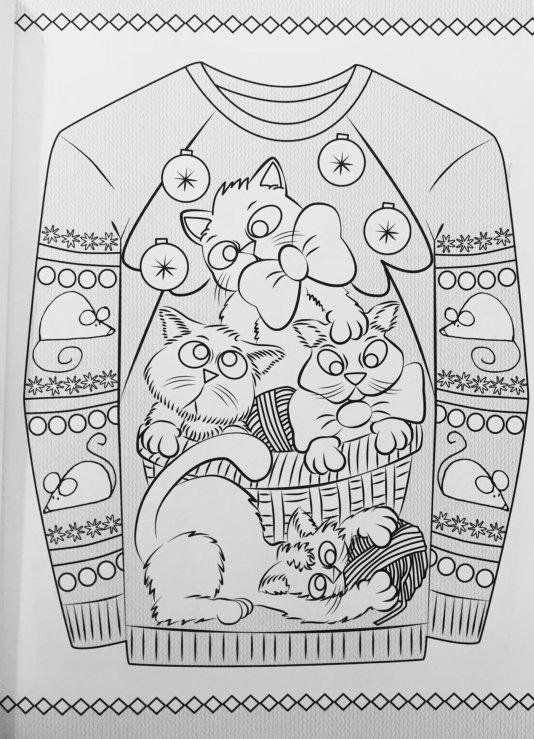 creative haven ugly holiday sweaters coloring book creative haven coloring books ellen christiansen kraft 9780486803777 amazon christmas colors