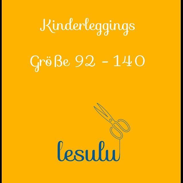 Kinderleggings - {Freebook} ⋆ lesulu - kreatives aus Graz