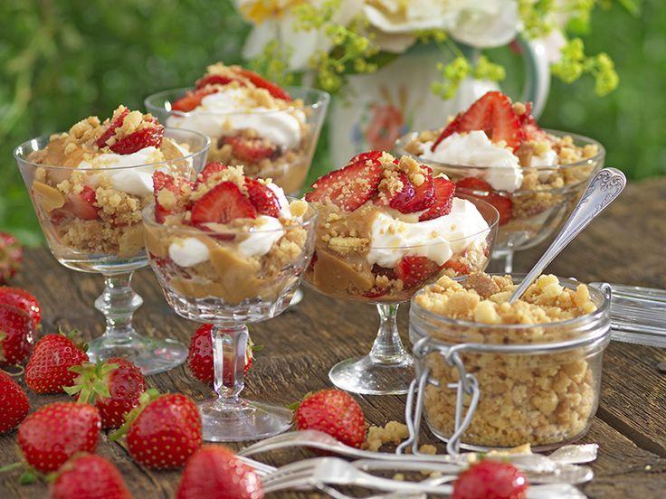 Koladröm med jordgubbar