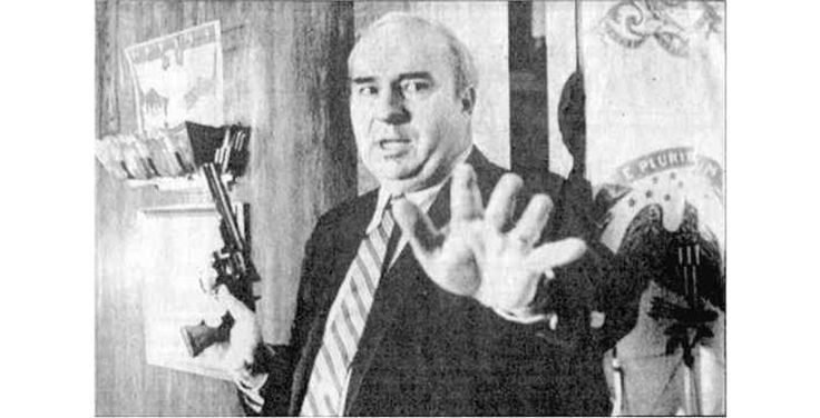 Between 1981-1987 the Treasurer of Pennsylvania was accused of receiving a bribe. During his trial on live television, R. Budd Dwyer pulled out a gun and killed himself.