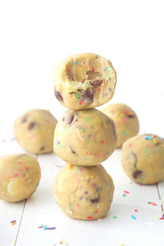 Edible Funfetti Cookie Dough — Sweetest Menu