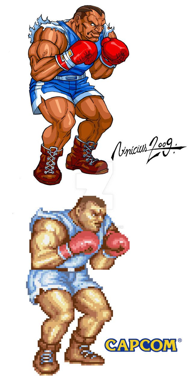 BALROG: STREET FIGHTER 2 by viniciusmt2007 on DeviantArt