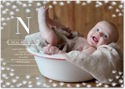 BIRTH ANNOUNCEMENT PICTURE