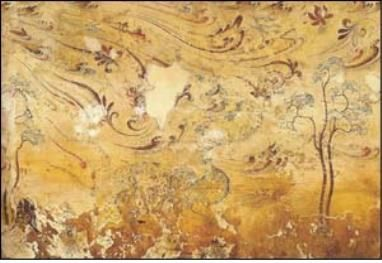 """#rinceau #anthemion #Goguryeo mural painting 真坡里1号墳 Tomb No. 1 in Jinpa-ri and Attributed to Pedro García de Benabarre, Spanish, active 1455–80, """"St. Anthony Abbott"""", c. 1460–70. Tempera on panel. Museum purchase with funds provided by George Alfred Cluett, Class of 1896. Williams College Museum of Art. http://artdaily.com/news/98207/-The-Presence-of-Absence--Medieval-Art-and-Artifacts--opens-at-the-Williams-College-Museum-of-Art#.WiYuKK2B1sM 진파리 1호무덤 真坡里1号墳, Tomb No. 1 in Jinpa-ri, middle…"""