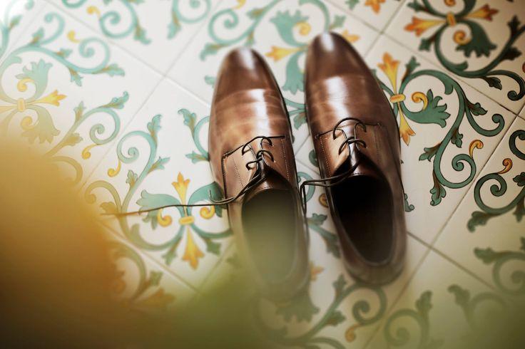 groom's shoes, Wedding Day, peach, green and white colors, Hotel Bonadies, ravello, Olga Studio, Sposa Mediterranea, Federica Wedding Planner