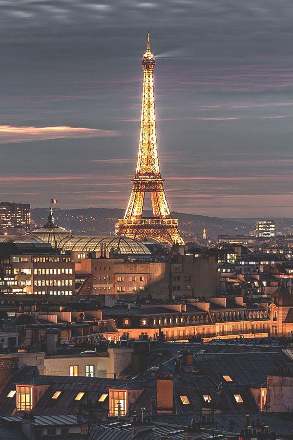 visualechoess:  Les Toits de ParisBy:Laurent Smith