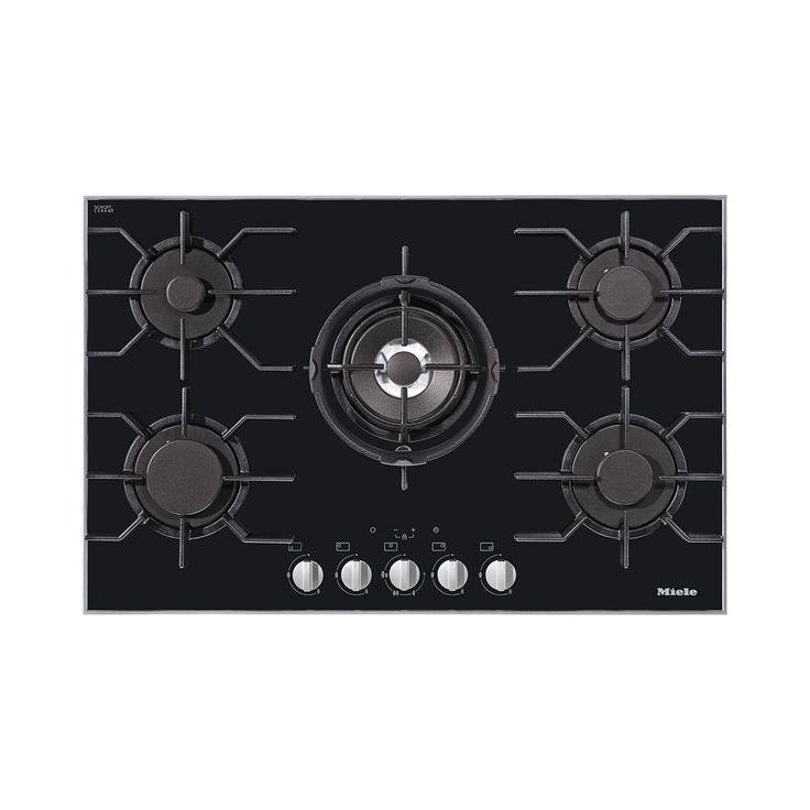 80.6 cm wide, 5 burners including centrally positioned high-output dual wok…
