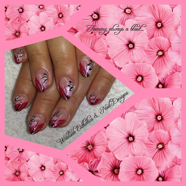 Spring Lust For Pink Flowers With Tammy....