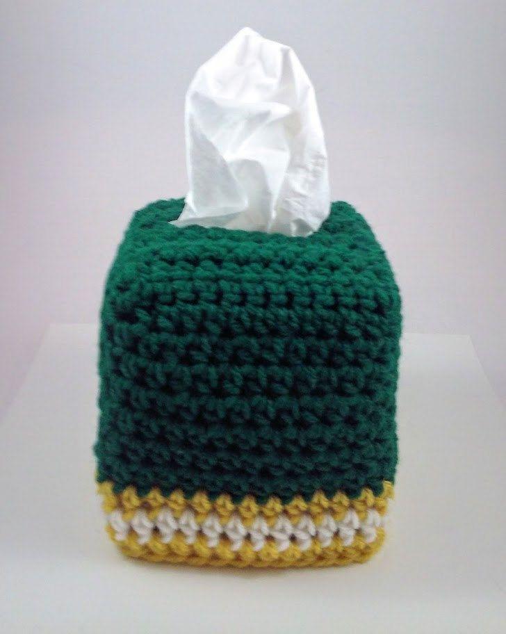 Green Bay Packers Tissue Box Cover Team Spirit Home Decor