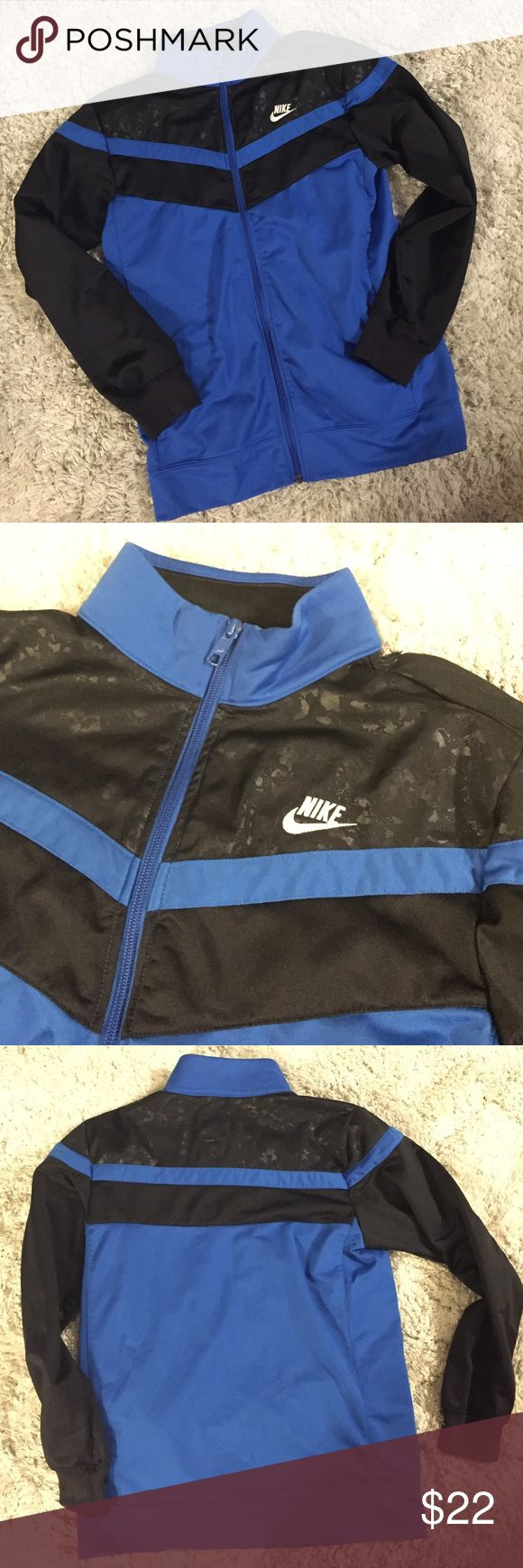NIKE - track jacket Has two pockets. Still in good condition. Nike Other