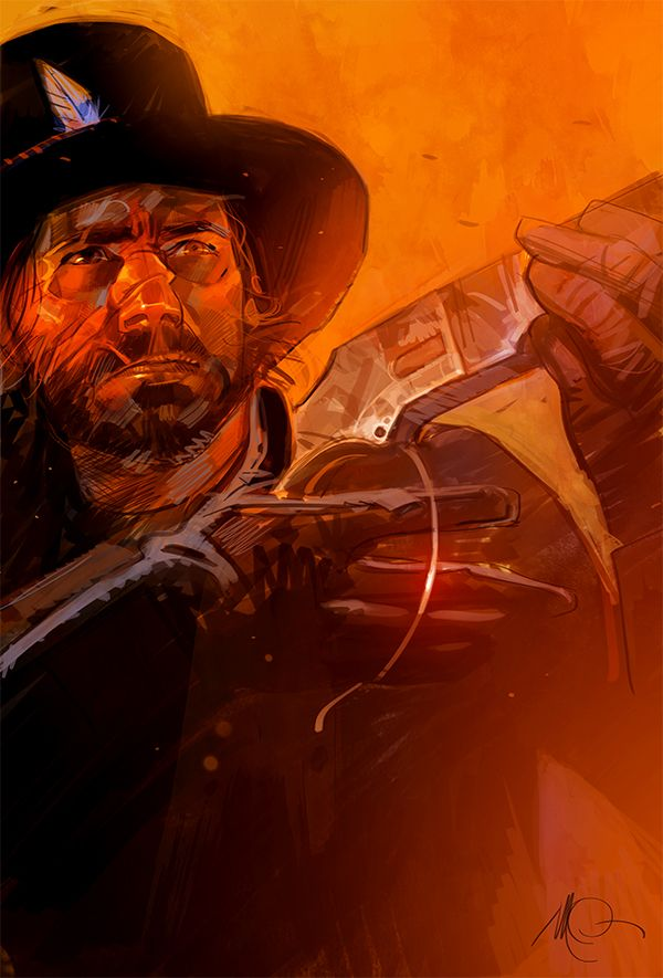 Red Dead Redemption by Massimo Carnevale | OH MY HEAVENS.  I am flushed.