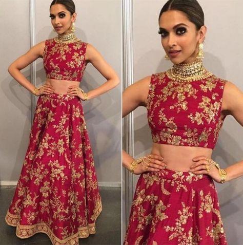 Deepika Padukone Shines In Pink Sabyasachi Lehenga Bollywood Lehenga Indian Lehenga Choli Bollywood Fashion