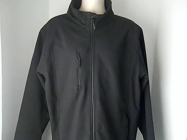 Team Sales ltd Canada Mens XL/XG Black Ski Jacket Spandex Polyester #TeamSalesltdCanada #BasicJacket