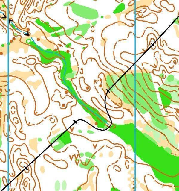 """""""You know the green is really green when even the powerline goes around!"""" 