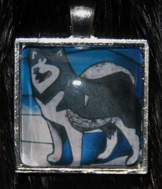 Husky Pendant by KabloonaKreations on Etsy, $18.00