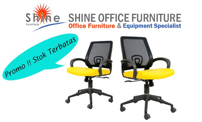 HARGA PROMO KURSI KANTOR !!! Segera dapatkan kursi kantor anda. Hub SHINE FURNITURE 021-55958120