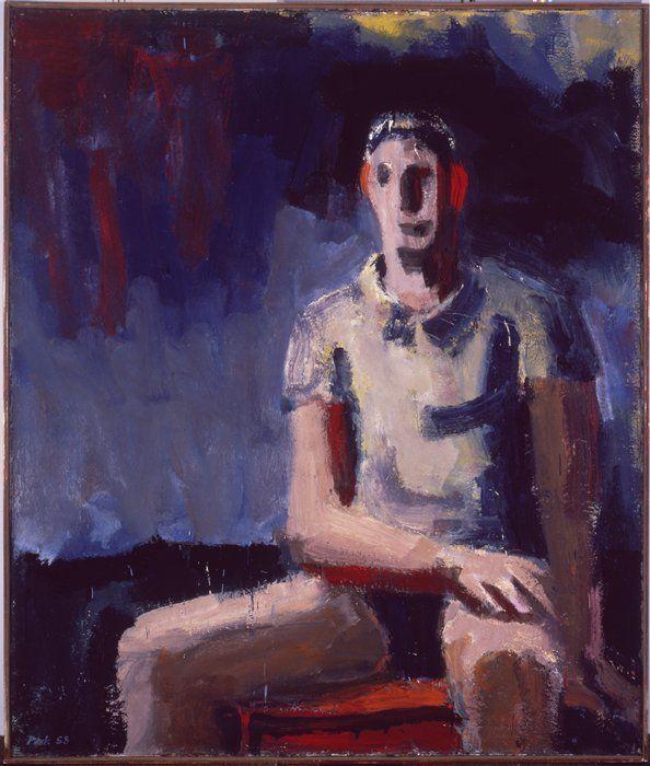 "David Park, ""Man in a T-Shirt"" (1958)"
