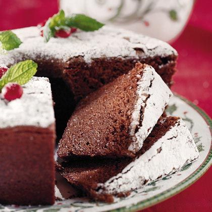 Wonderfully classic, beautiful Chocolate Velvet Holiday Pound Cake