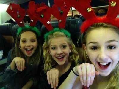 Maddie, Chloe, and Paige
