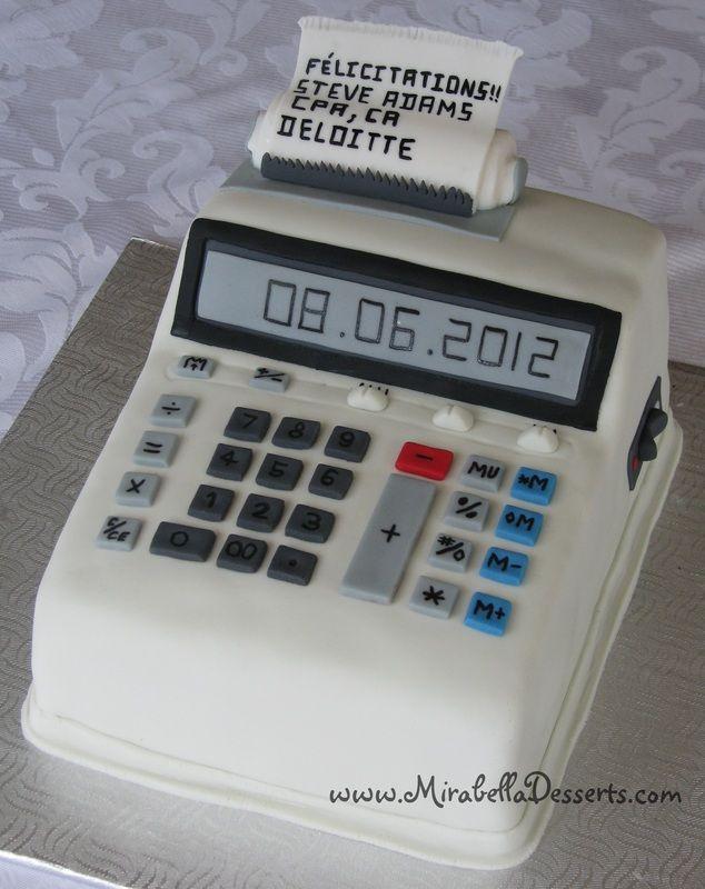 3d Calculator Cake My Cakes Pinterest Cakes Love It