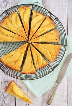 Boterkoek met appel - Laura's Bakery