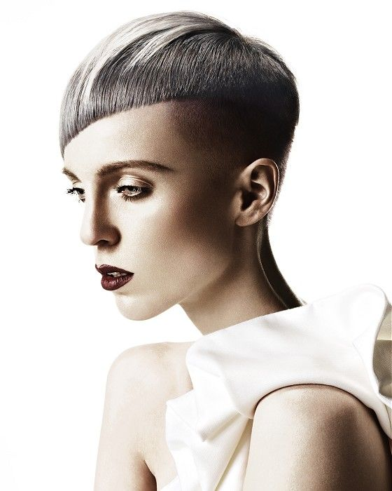Extreme color and cut, for strong personalities. Hair: Christel Lundqvist @ HOB Salons  Photography: John Rawson  Make-up: Jo Frost