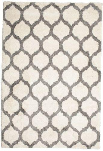 Berber Shaggy Illusia - Gebroken wit / Grijs 200x300 - CarpetVista