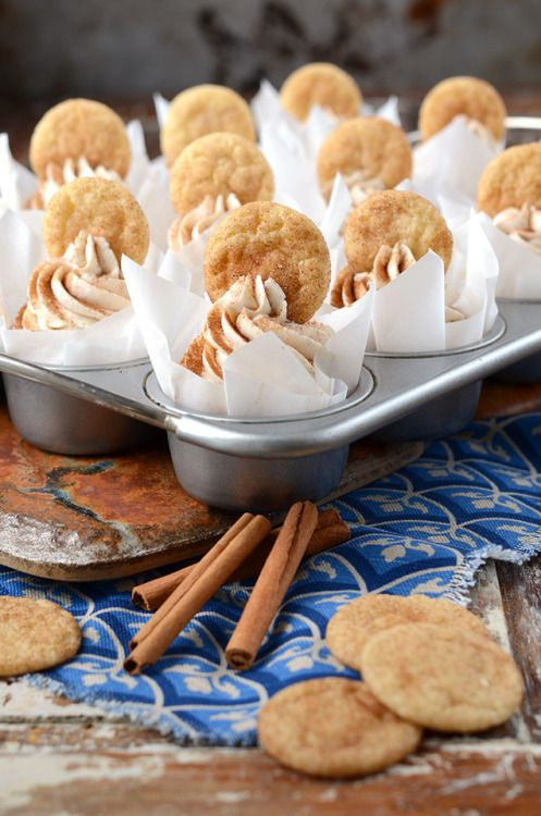 Snickerdoodle Cupcakes  Birthday Celebration Baking...