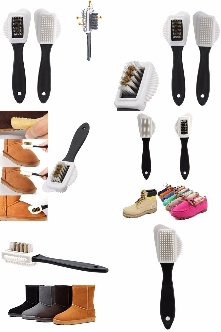[Visit to Buy] 1Pcs New Black 3 Side Cleaning Brush For Suede Nubuck Boot Shoes S Shape Shoe Cleaner Wholesale #Advertisement