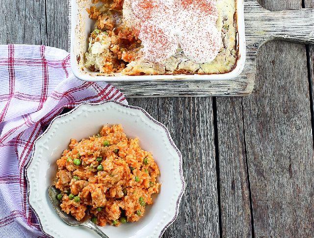 Bácskai rizses hús borsóval Recept képpel - Mindmegette.hu - Receptek
