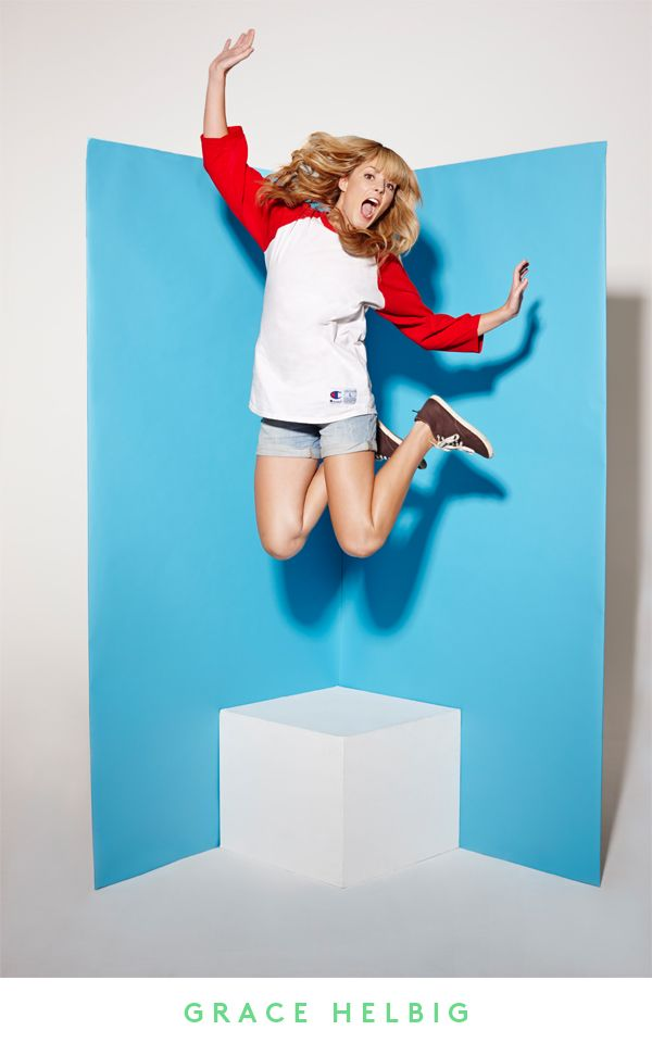 Grace Helbig in 30 Under 30 on Refinery29. Photographed by Clarke Tolton