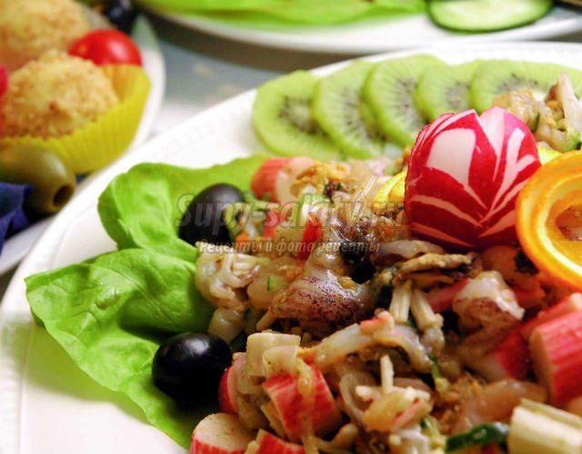 Летние салаты на День Рождения. Самые вкусные рецепты