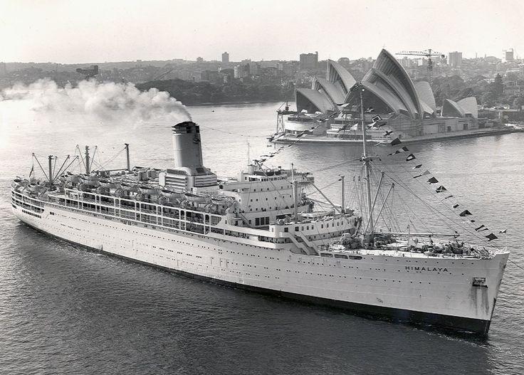 SS HIMALAYA | ss Himalaya - P Cruise Ship