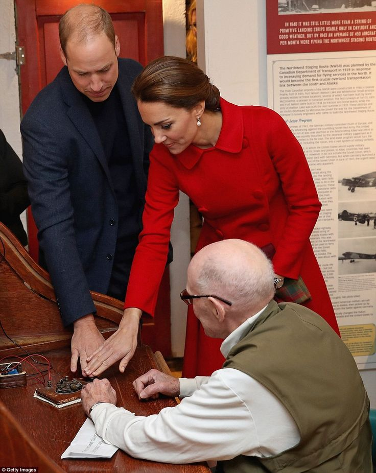 Hitting 'send' at the same time, William and Kate posted a tweet that was transmitted electronically from a telegram machine