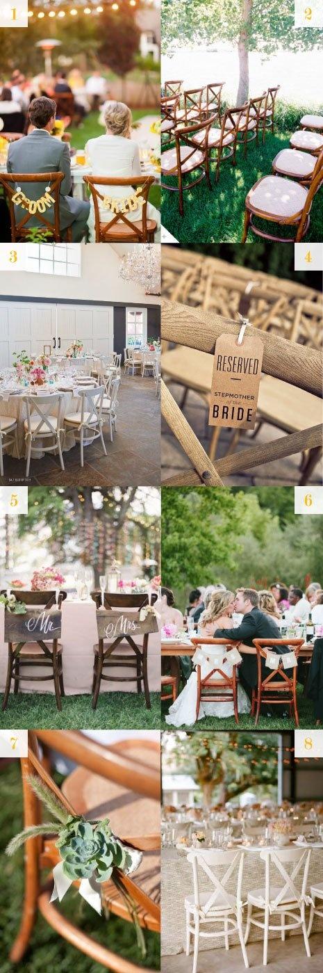 wedding seating - xback chairs - #xback #x-back