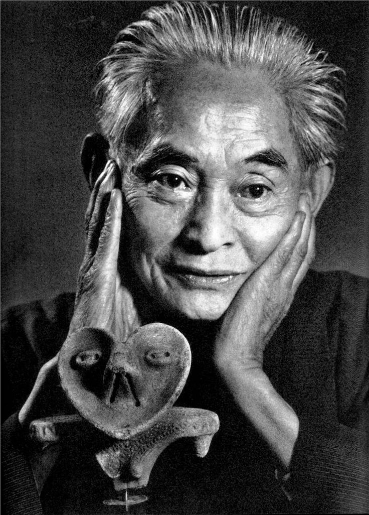 Yasunari Kawabata 川端康成 / japanese writer photo by Yousuf Karsh