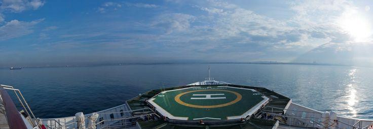 Louis Aura at the harbor of #Istanbul! #louiscruises #ship #cruising #turkey #traveling