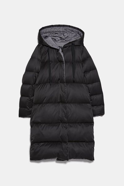 Reversible Down Puffer Jacket Coats Woman Zara United Kingdom Jackets Down Jacket Puffer Jackets
