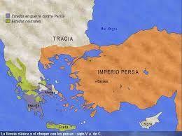 12 – Mas allá de estas fronteras, existían  amenazantes varios pueblos barbaros, sin contar al lejano y desarrollado reino de los persas de antigua cultura de abolengo. Los pueblos bárbaros protagonistas del inicio de la edad media son: