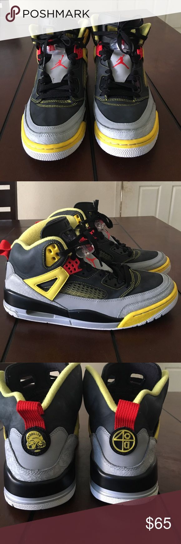 Air Jordan Spizike Brooklyn Worn a hand full of times,  overall good condition. Includes original box Jordan Shoes Sneakers