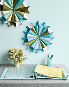 diy paper crafts: Ideas, Wedding, Party Idea, Scrapbook Paper, Martha Stewart, Paper Crafts, Paper Medallions, Diy