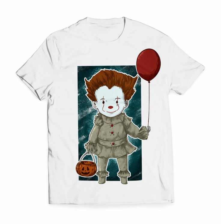 little clown T-shirt clip art