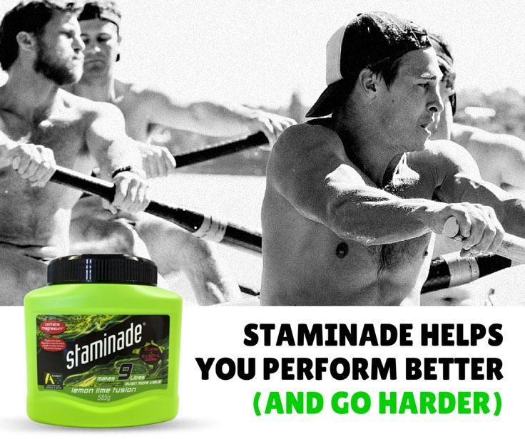 Drink Staminade powder or concentrate before exercise for more energy and a longer, more effective performance. Mixed according to directions, Staminade concentrate contains 5 per cent glucose – a simple sugar that the body breaks down easily to give an instant energy boost.