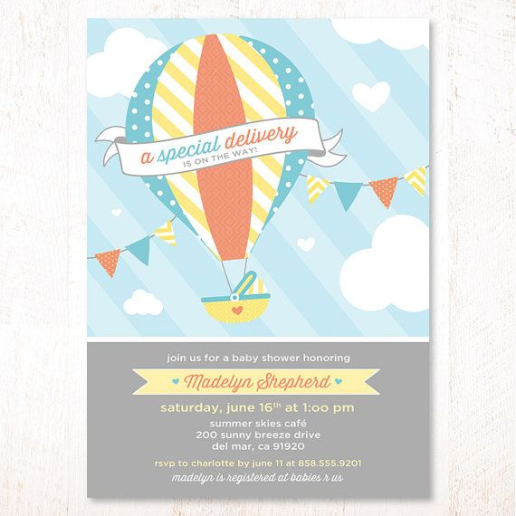 shower baby shower parties balloon shower balloon baby invitations