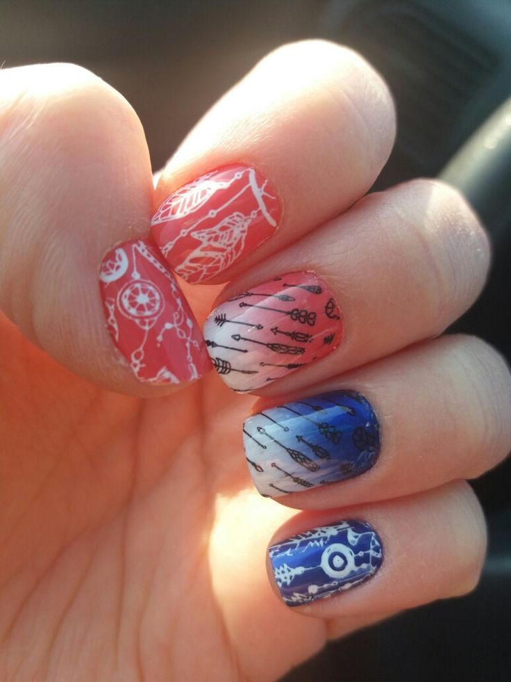 Dreamcather nails