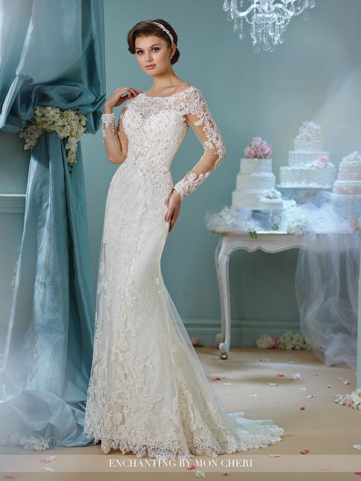 Trendy Enchanting All Dressed Up Bridal Gown