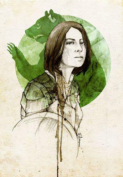 Dacey Mormont Print